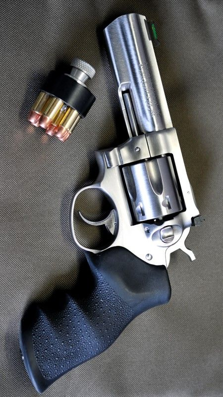 RUGER - GP100 4.2IN 357 MAGNUM REVOLVER FIREARM STAINLESS 6RD @aegisgears