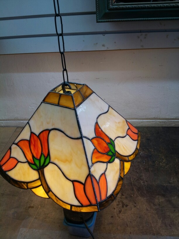 Stained glass lamp !