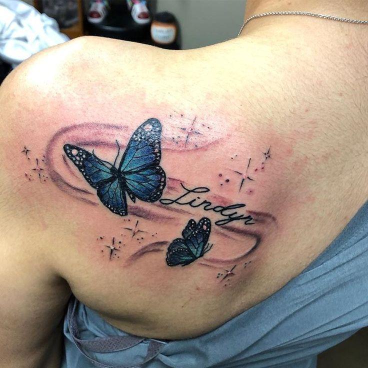Club tattoo mesa en instagram some fun butterflies by