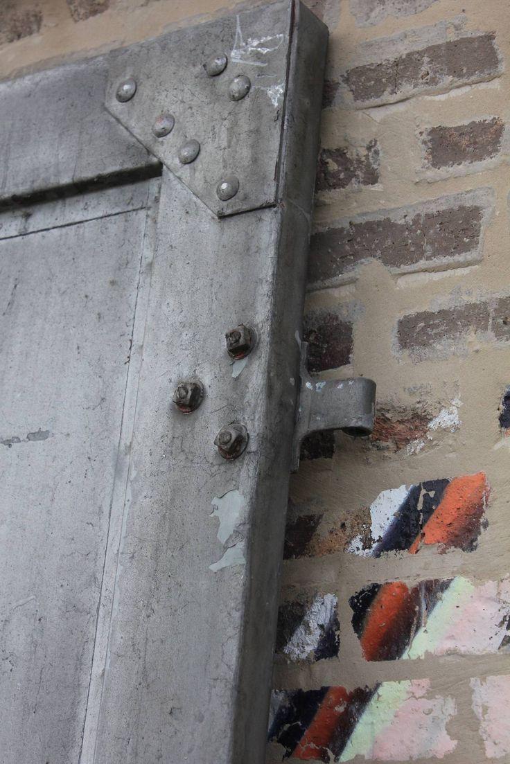 Best Office Door Images On Pinterest - Metal basement doors