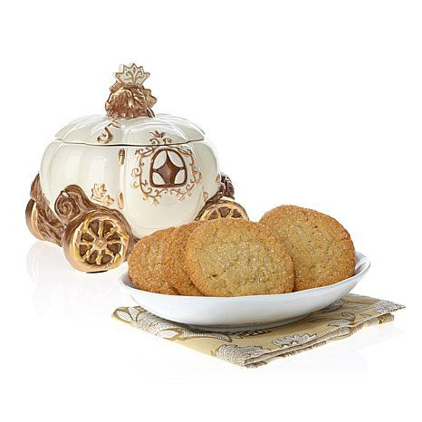 Shop David's Cookies Cinderella Carriage Jar with Sugar Cookies, read customer reviews and more at HSN.com...
