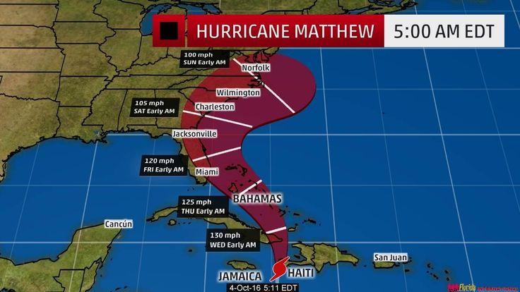 Uraganul Matthew: Ultimele noutati