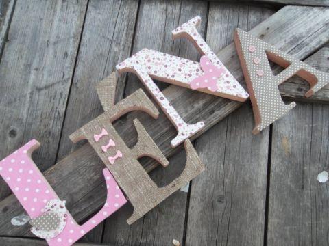LÉNA egyedileg díszített polisztirol habbetűk igény szerinti színvilággal és egyéni/egyedi stílusban rendelhetők.  A betűk 19cm magasak és a 3cm szélesek. #### name, letters handmade, baby, gift ,név, betűk, kézzel készült, bébi, ajándék...