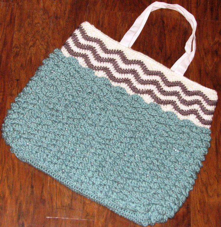 102 best Crochet - Bags images on Pinterest | Bolsos de ganchillo ...