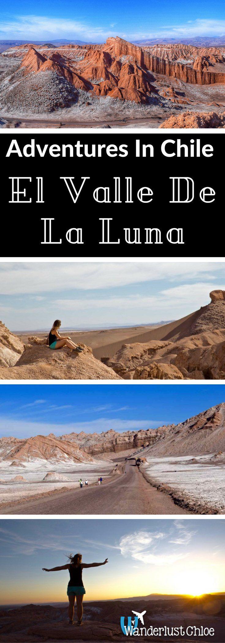 Adventures in El Valle De La Luna. Rugged lunar landscapes, sand dunes,deepvalleys and salt caves. Welcome to Chile'sAtacama Desert – the driest place on earth.