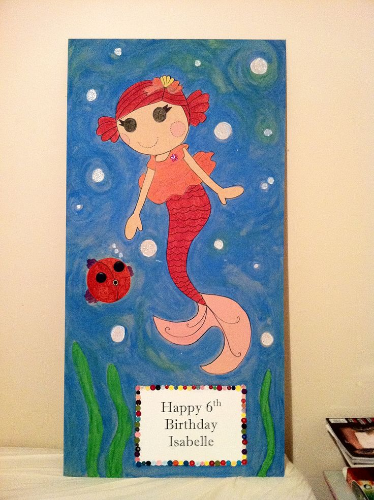 Picture I painted for my daughter's birthday.