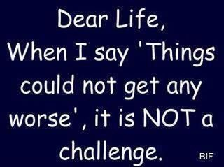 Dear Life: Inspiration, The Challenges, Truths, Funny Stuff, Challenges Accepted, Serious, Weights Loss, True Stories, Dear Life