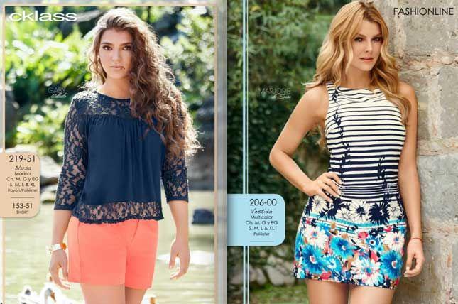 catalogo de ropa Cklass primavera verano 2016