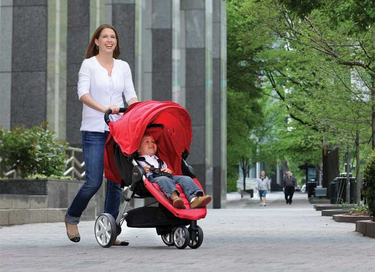 Britax B-Agile Stroller  The B-AGILE Stroller from BRITAX is a lightweight, compact stroller featuring a one-hand, quick-fold design with an automatic chassis lock.