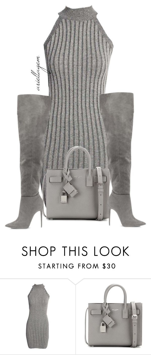 """""""untitled #0280"""" by ariellagem ❤ liked on Polyvore featuring Boohoo, Yves Saint Laurent, women's clothing, women's fashion, women, female, woman, misses and juniors"""