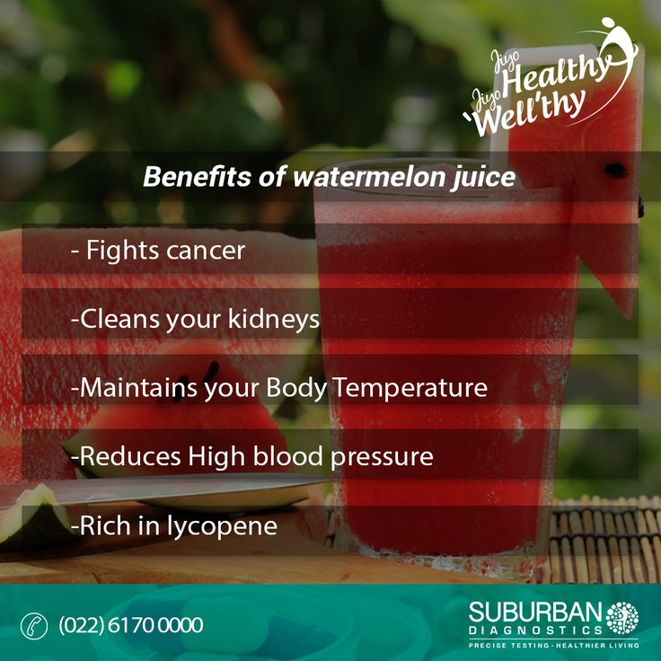 When summer calls for a drink, watermelon juice is the best way to beat the heat with numerous health benefits! #summer #health #care #watermelon #juice #healthyliving