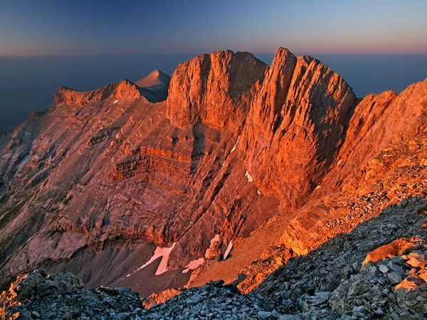 Mount Olympus was the lightest and most worshipped mountain of Greece. A magnificent place with numerous forests and gorges and summits of different heights, blessed with mild climate, and surrounded by Uranus, the heaven.
