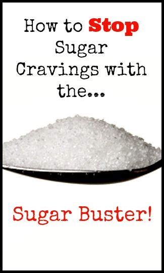 How to Stop Sugar Cravings with the Sugar Buster | www.fearlesseating.net