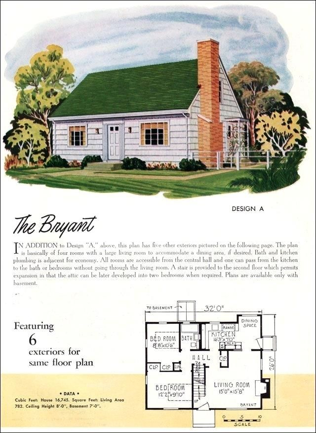 Plans 1950s Home Plans Stylish 1950s Cape Cod House Plans Cape Cod House Cape Cod House Plans Cottage House Plans