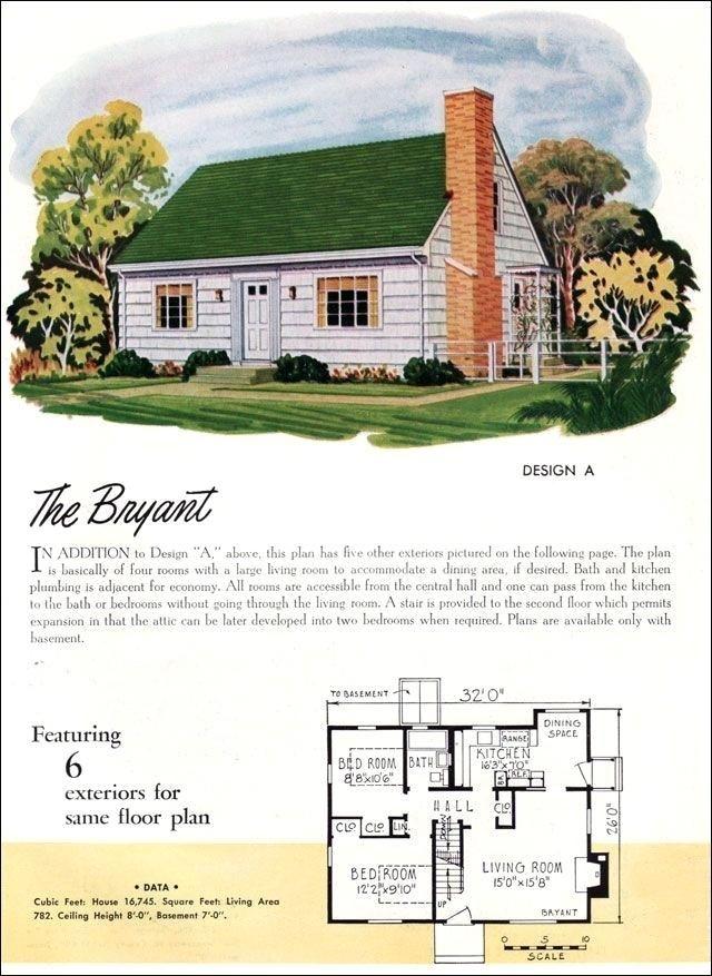 Plans 1950s Home Plans Stylish 1950s Cape Cod House Plans Cape