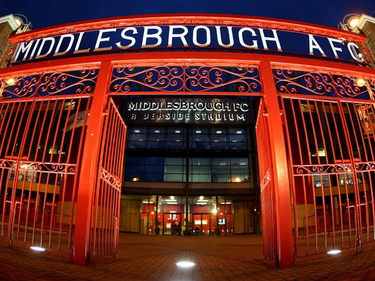 The Riverside Stadium, home of the greatest team in the land!