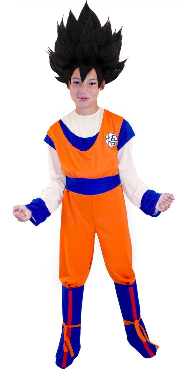 Disfraz de Goku™ Dragon Ball Z™, para niño Disponible en: http://www.vegaoo.es/disfraz-de-goku-dragon-ball-z-para-nino.html?type=product