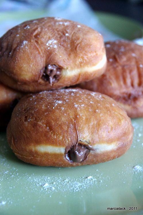 Miam Recette de beignets fourrés au Nutella cuit à la friture