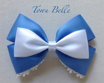 Ballroom Belle Hair Bow by MickeyWaffles on Etsy