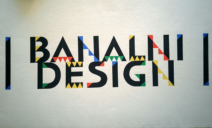 Banal Design - typography.