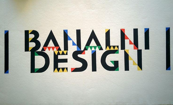 Banal Design - typography.