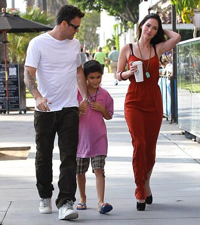When Megan Fox married Brian Austin Green after 6 years of dating, his son Kassius was the couple's only witness.