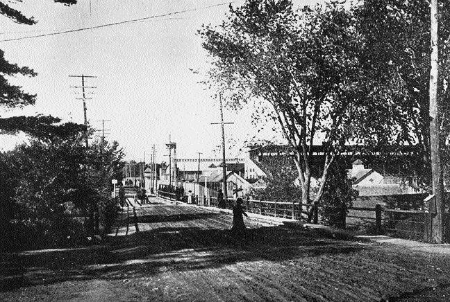 Bank Street Bridge - 1910