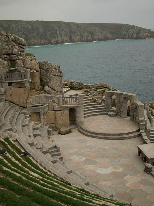 The Minack Theatre, Porthcurno, Cornwall, England