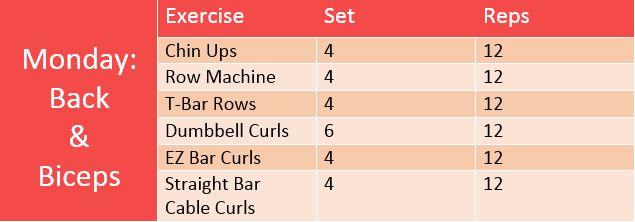 michelle lewin workout routine