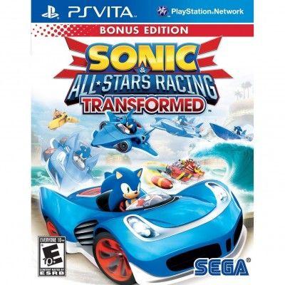 Jogo PS Vita Sonic and All Stars Racing Transformed Bonus Edition #PS Vita#Games
