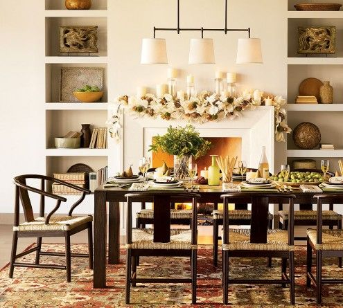 Dining Room Decorations | Dining Room Decor Ideas By Pottery Barn Listed In:
