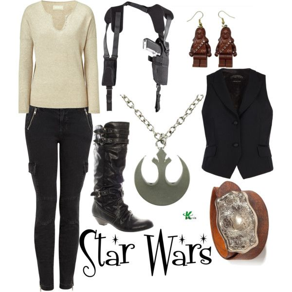 My creation inspired by Star Wars character Han Solo.