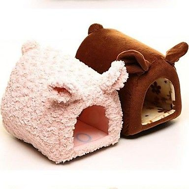 NEW Soft Cozy Warm Cute Piggy Pet Bed House For Small Dog Cat – USD $ 24.11