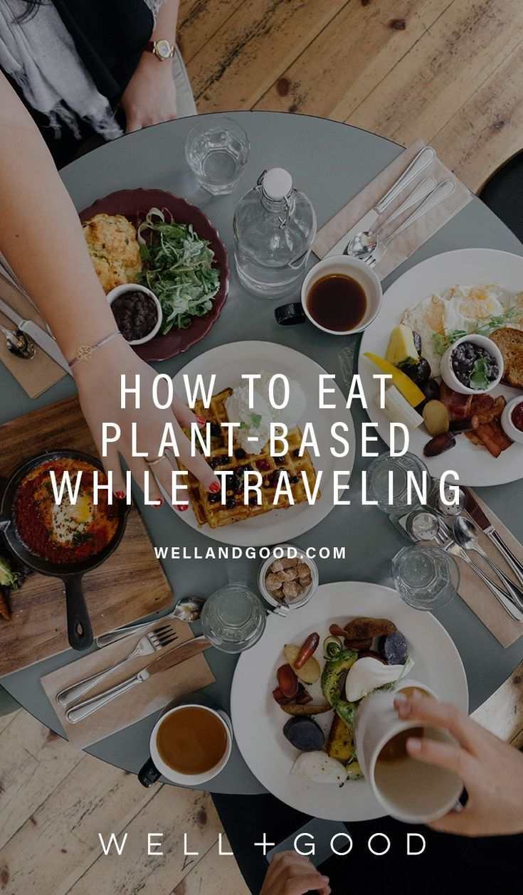 plant based diet while traveling