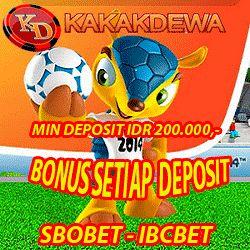 Syarat dan ketentuan yang berlaku : 1. Minimal deposit adalah Rp 200.000,- 2. Max Bonus sebesar Rp 10.000.000,- per member / hari. 3. Bonus ini berlaku untuk semua member Kakakdewa Group 4. Bonus ini berlaku untuk Product Games SBOBET & IBCBET