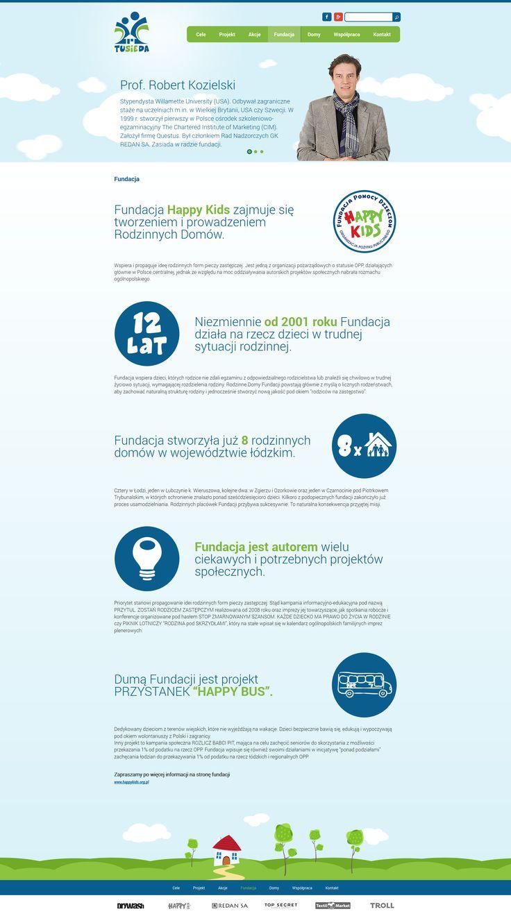 Tusieda - akcja Fundacji Happy Kids http://tusieda.pl/