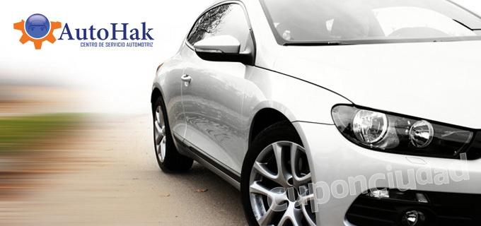 ¡Deja tu carro como nuevo! Lavado + Encerado + Restauración de partes negras + Ambientador + Llantil en Autohak