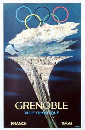 Grenoble, ville Olympique en 1968