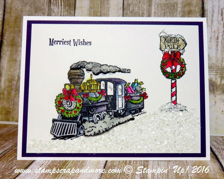 Christmas, Christmas Magic, Stampin' Up!, Card-Christmas
