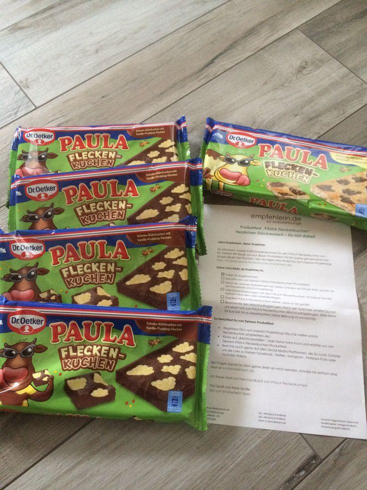 "Produkttest ""PAULA Fleckenkuchen"" mit empfehlerin.de  #paula #fleckenkuchen #empfehlerin"
