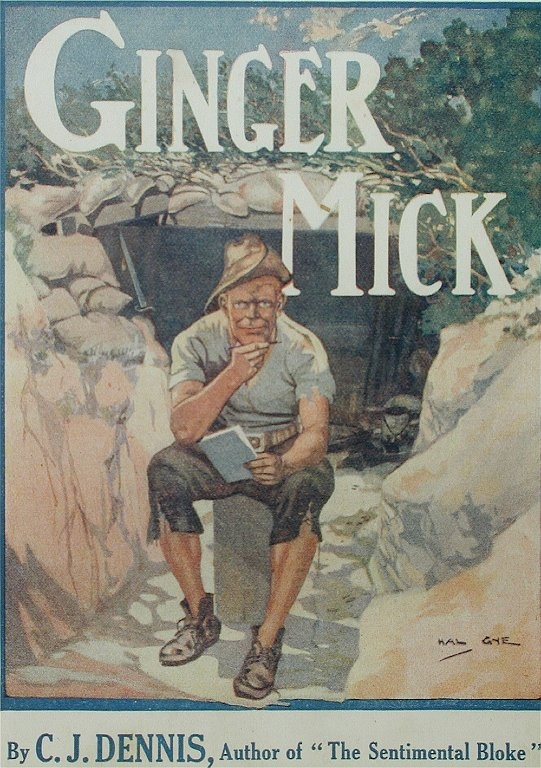 CJ Dennis's early work included Ginger Mick and his travails