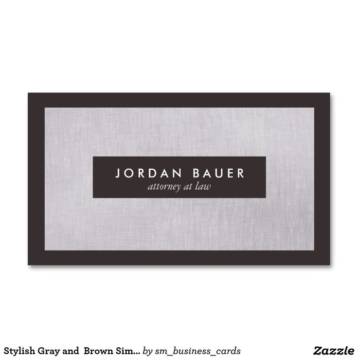 19 best Customizable Attorney and Professional Business Cards ...