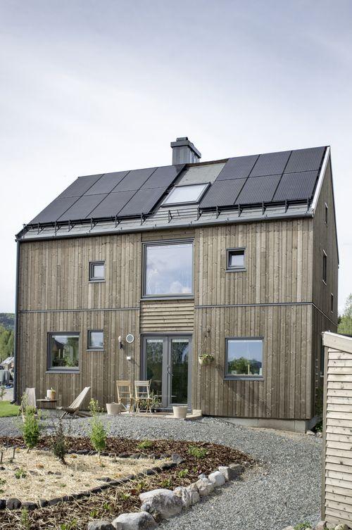 Hurdal ecovillage in Hurdal. Architects: Gaia Arkitekter.