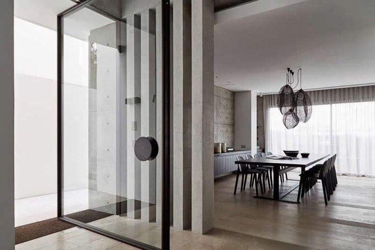 Vaucluse Residence featuring Vitrocsa windows and doors  Architect: Lawless & Meyerson and MHN Design Union  Builder: Horizon Habitats Photos: Justin Alexander