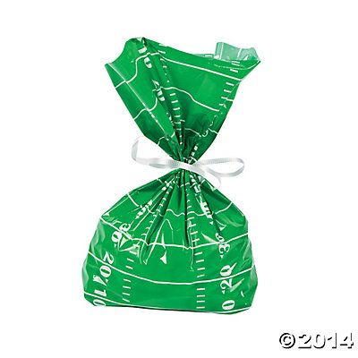 Football Field Bags, Cellophane Bags, Party Bags & Containers, Party Favors, Party Supplies - Oriental Trading
