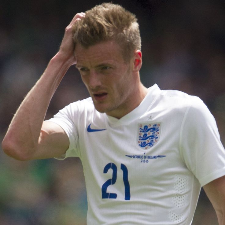 Accused ... James Vardy, pictured on his England debut