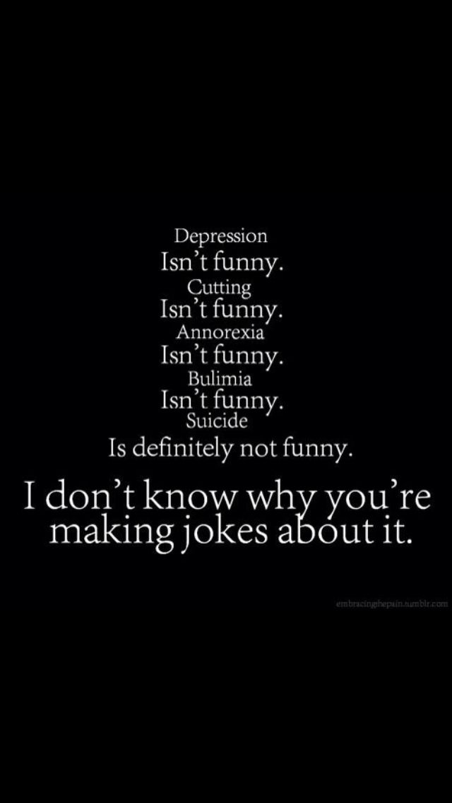depression quotes | depression suicide cutting anorexia self-harm joking disorder selfharm ...