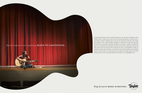 Taylor Guitars: Step Forward. Music Is Waiting.