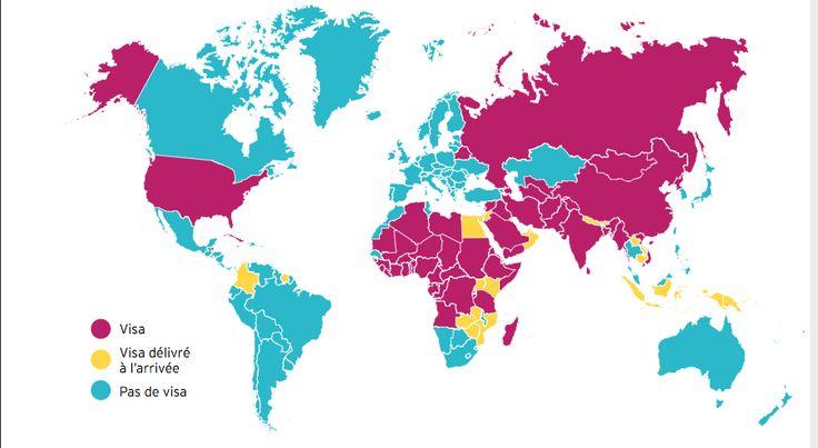 Consulter souvent: http://www.diplomatie.gouv.fr/fr/conseils-aux-voyageurs/conseils-par-pays/ Les visas Se présenter aux ambassades. Les vaccins