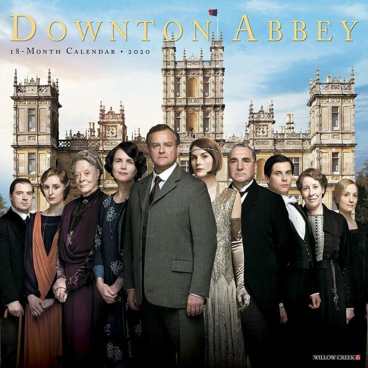 Downton abbey 2020 wall calendar julian fellowes